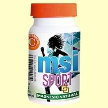 MSI Sport Magnesio 100% natural - 60 cápsulas