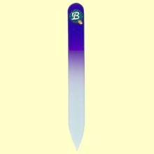 Lima uñas de cristal templado 9 cm color lila - Bohema