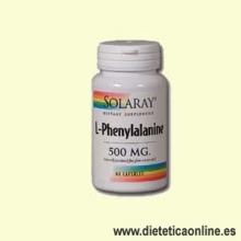 L-Phenylalanine 60 cápsulas de Solaray