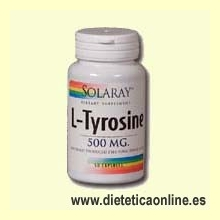 L-Tyrosine 50 cápsulas de Solaray