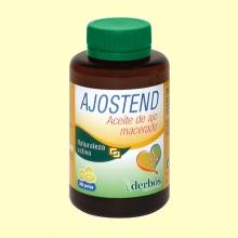 Ajostend Aceite de Ajo Macerado - 200 perlas - derbós