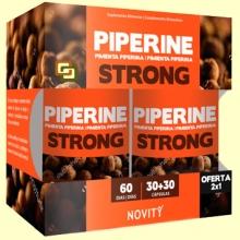 Piperine - Pimienta Piperina - 30 + 30 comprimidos - Novity *