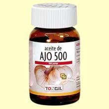 Aceite de Ajo 500 - 100 perlas - Tongil