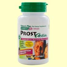 Prostactin - Salud de la próstata - 60 perlas - Natures Plus