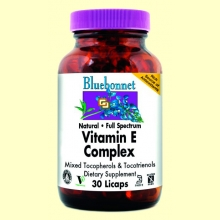 Vitamina E Complex Full Spectrum - 30 licaps - Bluebonnet