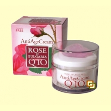 Crema Regenerante Coenzima Q10 - 50 ml - Rose of Bulgaria