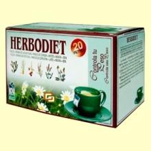 Infusión Herbodiet Controla tu Peso - 20 bolsitas filtro - Novadiet