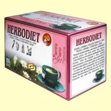 Infusión Herbodiet Vientre Plano - 20 bolsitas filtro - Novadiet