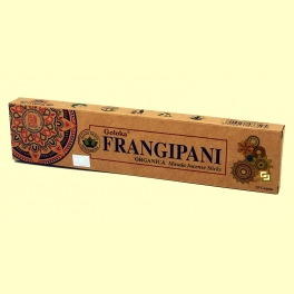 Incienso Frangipani - 15 gramos - Goloka