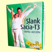 Slank Sacia T3 Triple Acción - 45 cápsulas - Espadiet
