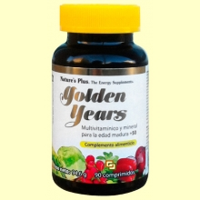 Golden Years - 90 comprimidos - Multivitamínico y Mineral Senior