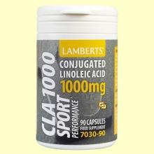 CLA 1000 mg - 90 cápsulas - Lamberts