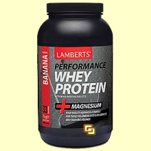 Whey Protein Sabor a Plátano - 1000 gramos - Lamberts