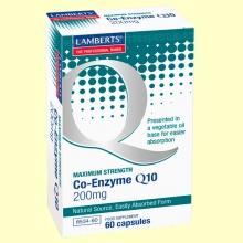 Coenzima Q-10 200 mg - 60 cápsulas - Lamberts