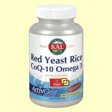 Red Yeast Rice CoQ10 Omega 3 - 60 perlas - Laboratorios Kal