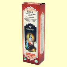 Henna Cobre Natural Pasta - 200 ml - Radhe Shyam