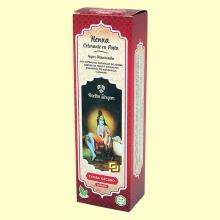 Henna Caoba Oscuro Pasta - 200 ml - Radhe Shyam