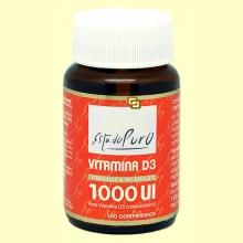 Vitamina D3 1000 UI - 100 comprimidos - Tongil