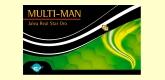 Multi Man Jalea Star Oro Hombre - 20 viales - Espadiet