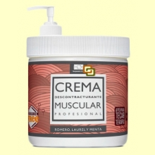 Crema Muscular - 1 litro - Terpenic Labs