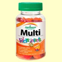 Multi Kids Gummies - Multivitamínico infantil - 60 gominolas - Jamieson *