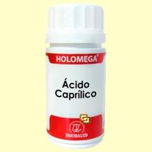 HoloMega Ácido Caprílico - 50 cápsulas - Equisalud