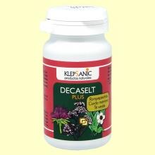 Decaselt Plus 500 mg - Salud renal y del hígado - 60 cápsulas - Klepsanic