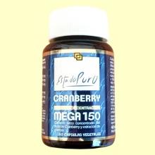 Cranberry Mega 150 PACs - Arándano Rojo - 40 cápsulas - Tongil