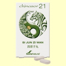 Chinasor 21 - SI JUN ZI WAN - 30 comprimidos - Soria Natural