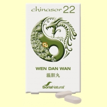 Chinasor 22 - WEN DAN WAN - 30 comprimidos - Soria Natural