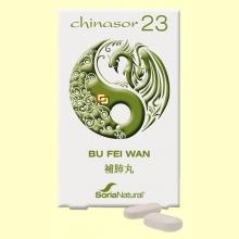 Chinasor 23 - BU FEI WAN - 30 comprimidos - Soria Natural