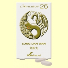 Chinasor 26 - LONG DAN WAN - 30 comprimidos - Soria Natural
