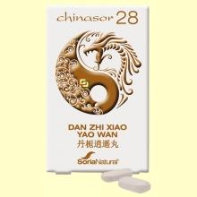 Chinasor 28 - DAN ZHI XIAO YAO WAN - 30 comprimidos - Soria Natural