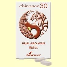 Chinasor 30 - HUAI JIAO WAN - 30 comprimidos - Soria Natural