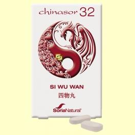 Chinasor 32 - SI WU WAN - 30 comprimidos - Soria Natural *