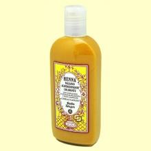 Bálsamo Henna Castaño - 250 ml - Radhe Shyam