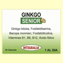 Ginkgo Senior - 30 cápsulas - Integralia