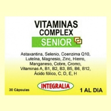Vitaminas Complex Senior - 30 cápsulas - Integralia
