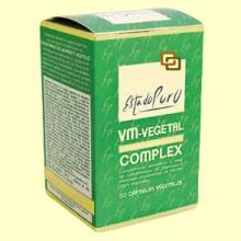 VM-Vegetal Complex - Vitaminas y Minerales Vegetales - 30 comprimidos - Tongil
