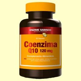 Coenzima Q-10 120 mg - 60 cápsulas - Enzime