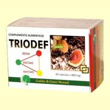 Triodef Ayuda Inmunológica - Golden & Green - 60 cápsulas