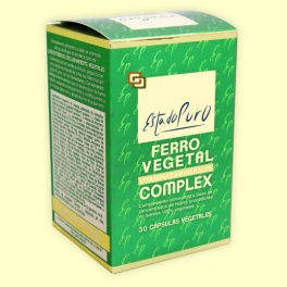 Ferro Vegetal Complex - 30 cápsulas - Tongil