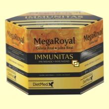 Mega Royal Immunitas Jalea Real - 20 ampollas - DietMed
