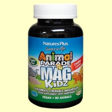 Animal Parade Mag Kidz - 90 comprimidos masticables - Natures Plus