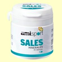 Sales Minerales - 25 cápsulas - Amlsport
