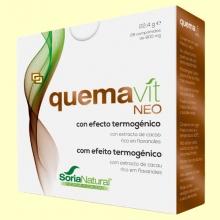 Quemavit Neo - Efecto termogénico - 28 comprimidos - Soria Natural