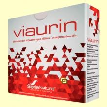 Viaurin - Vías urinarias - 28 comprimidos - Soria Natural