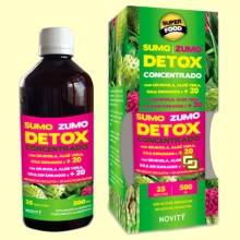 Zumo Detox Concentrado - 500 ml - Novity *