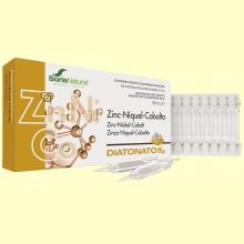 Diatonato 5/2 Zinc-Niquel-Cobalto - 28 ampollas - Soria Natural
