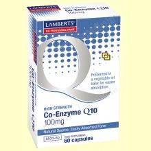 Coenzima Q-10 100 mg - Antioxidante - 60 cápsulas - Lamberts